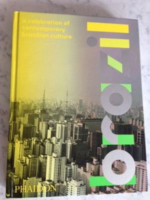 capa do livro da Phaidon sobre cultura brasileira