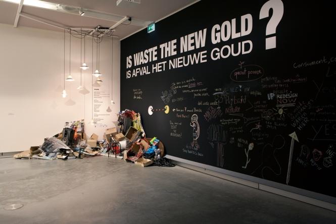 Is Waste the new Gold? Exposição My Waste is Your Waste, em maio de 2013, em Breda, na Holanda
