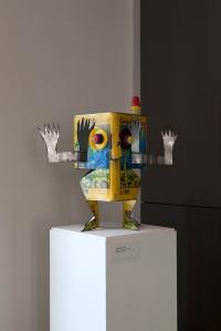 Trabalho de Thiago Bender exposto no MOTI - em Breda, na Holanda, na mostra My Waste is Your Waste